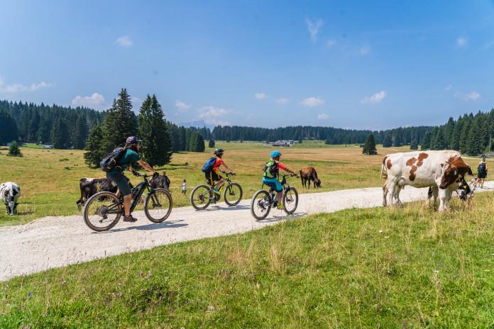 Alpe Cimbra: léto na kole i u vody