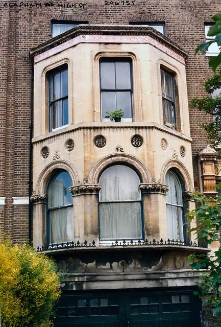 Bay Window, Clapham High St, Clapham, Lambeth, 1989,