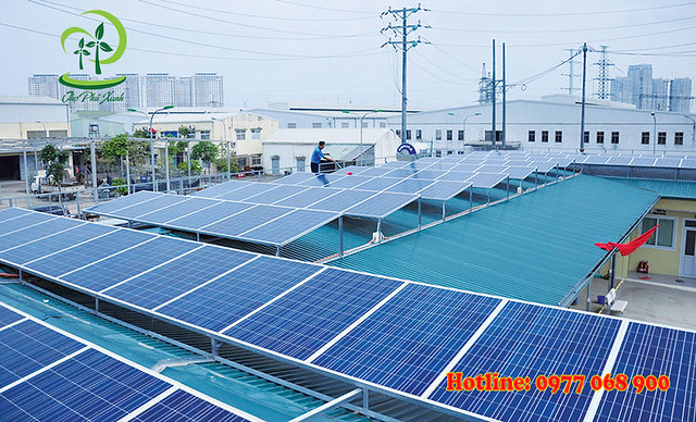 Hoà lưới điện bằng tấm pin năng lượng mặt trời mang lại những lợi ích gì?