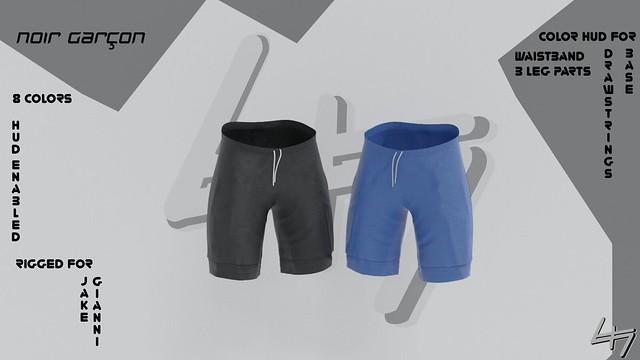 [Noir Garcon] - Bristol Shorts