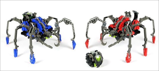 Technic Spiders from Old Times