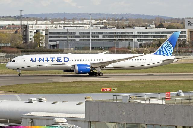 N12010  -  Boeing 787-10 Dreamliner  -  United Airlines  -  LHR/EGLL 9/4/21