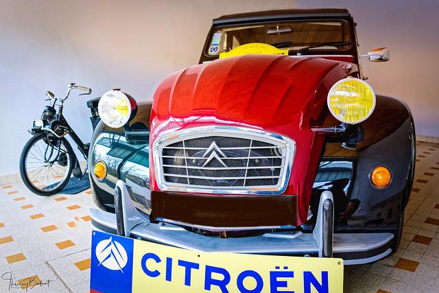 2CV Citroën - Auzat