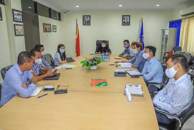 Enkontru ANC ho Timor Telecom, Telkomcel no Telemor hodi trata situasaun atual ba fornesimentu servisu telekomunikasoens.