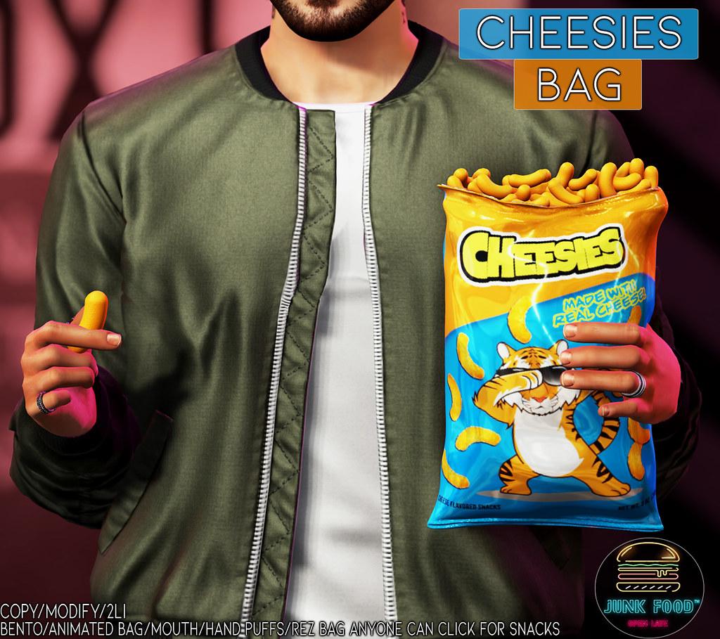 Junk Food – Cheesies Bag