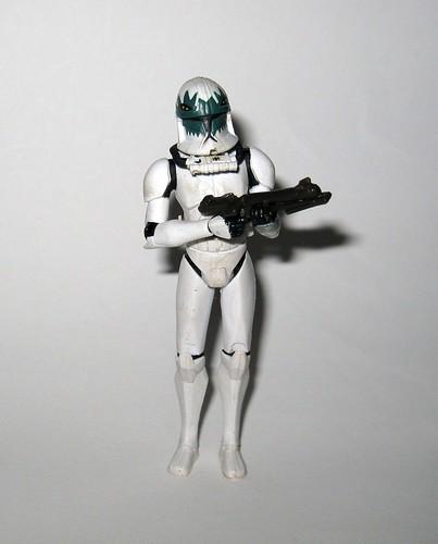 clone pilot goji star wars the clone wars cw28 basic action figures blue black card 2010 hasbro i