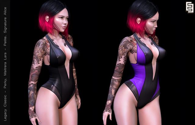 NEW !EE Dahlia Lo bodysuit @ faMESHed X!!!