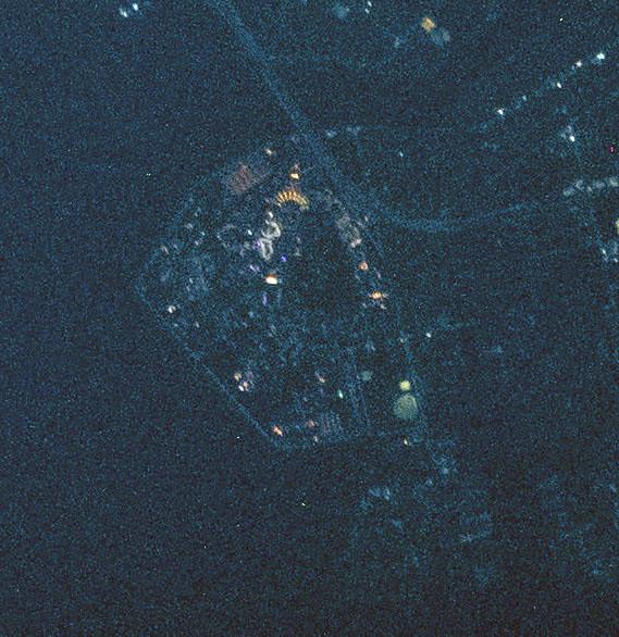Tokyo in Blue Night - Tokyo Disneyland