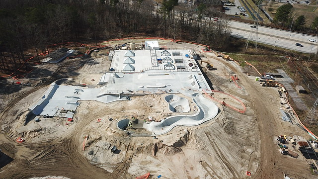 Woodstock Park Construction