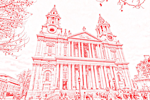 St. Paul's Cathedral Drawing
