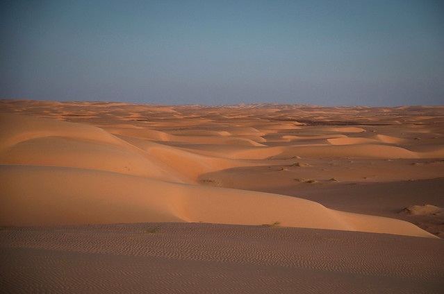 Sand dunes near Chinguetti - Mauritania