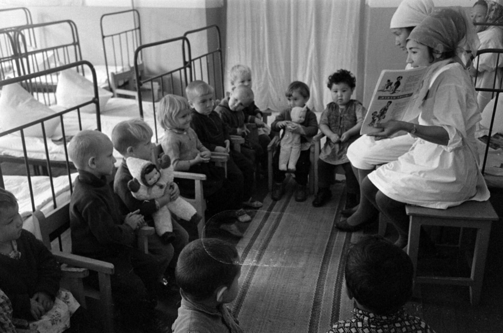23. Алдабергеново. Детский сад