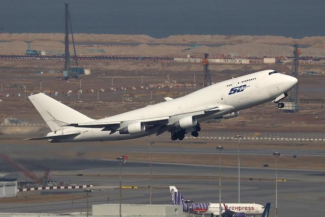 VQ-BWT, Boeing 747-400BCF, Longtail Aviation, Hong Kong