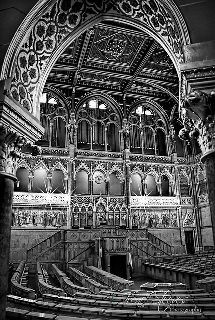 Assembly Hall Hungarian National Parliament, Budapest, Hungary