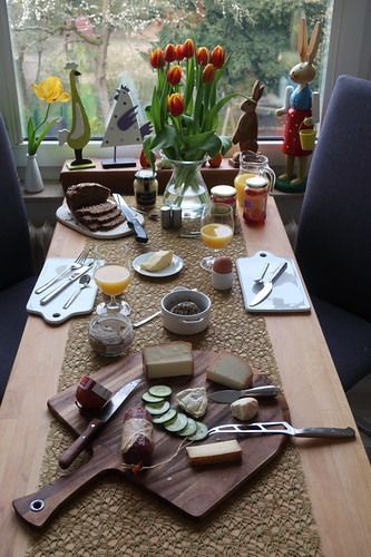 Frühstück an unserem letzten Urlaubstag