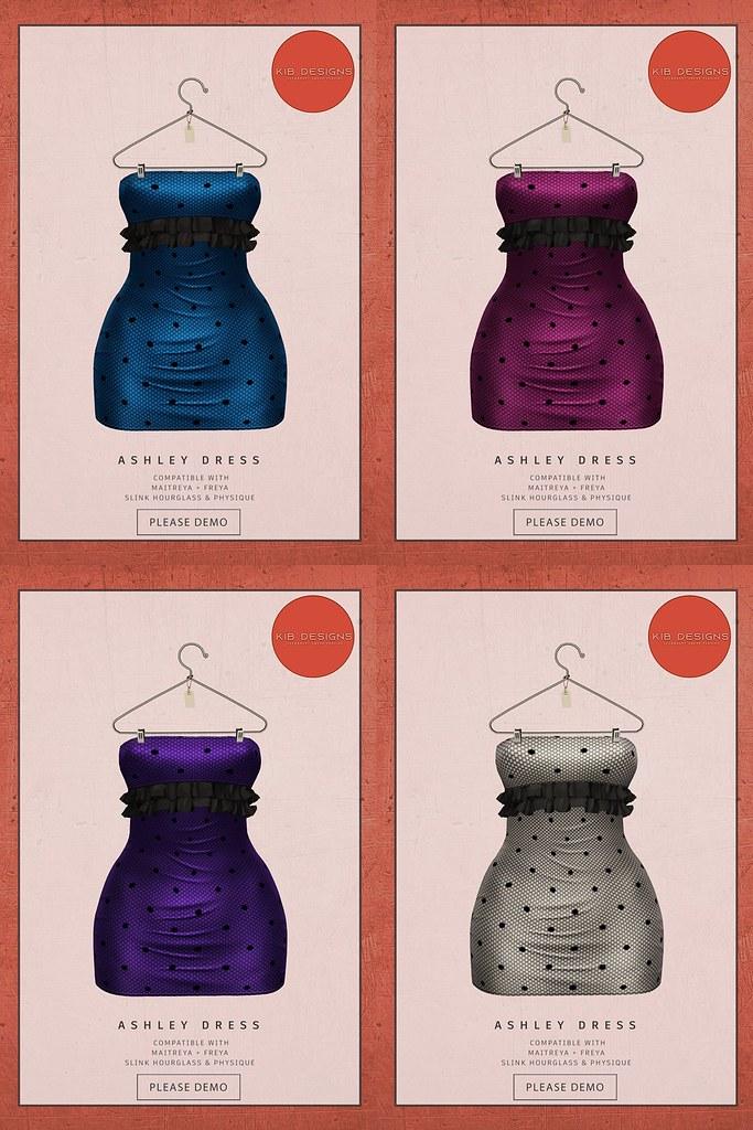 KiB Designs – Ashley Dress @Energy Sales 9th April