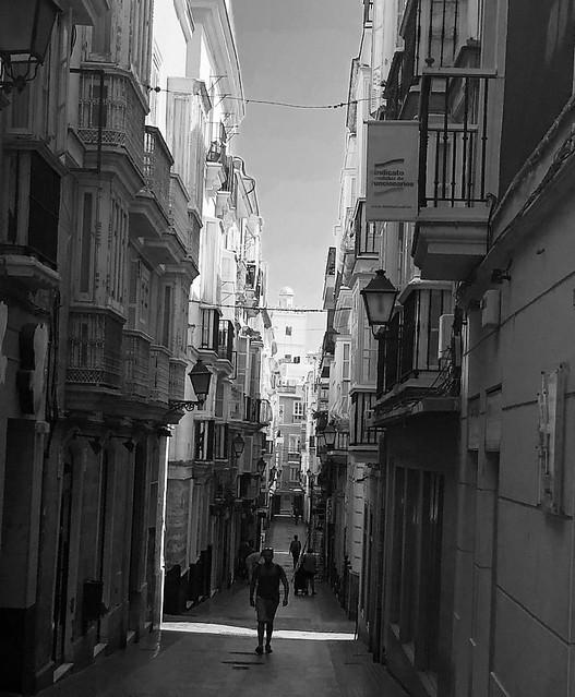 Calle San miguel -Cadiz