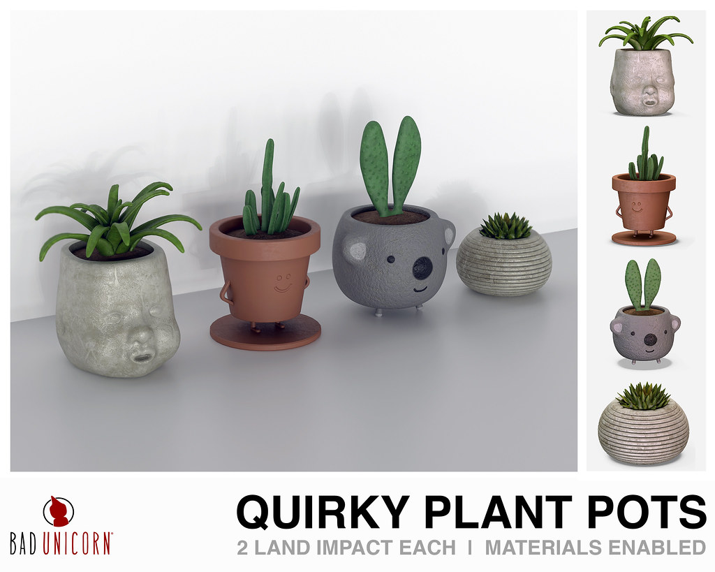 NEW! Quirky Plant Pots @ C88