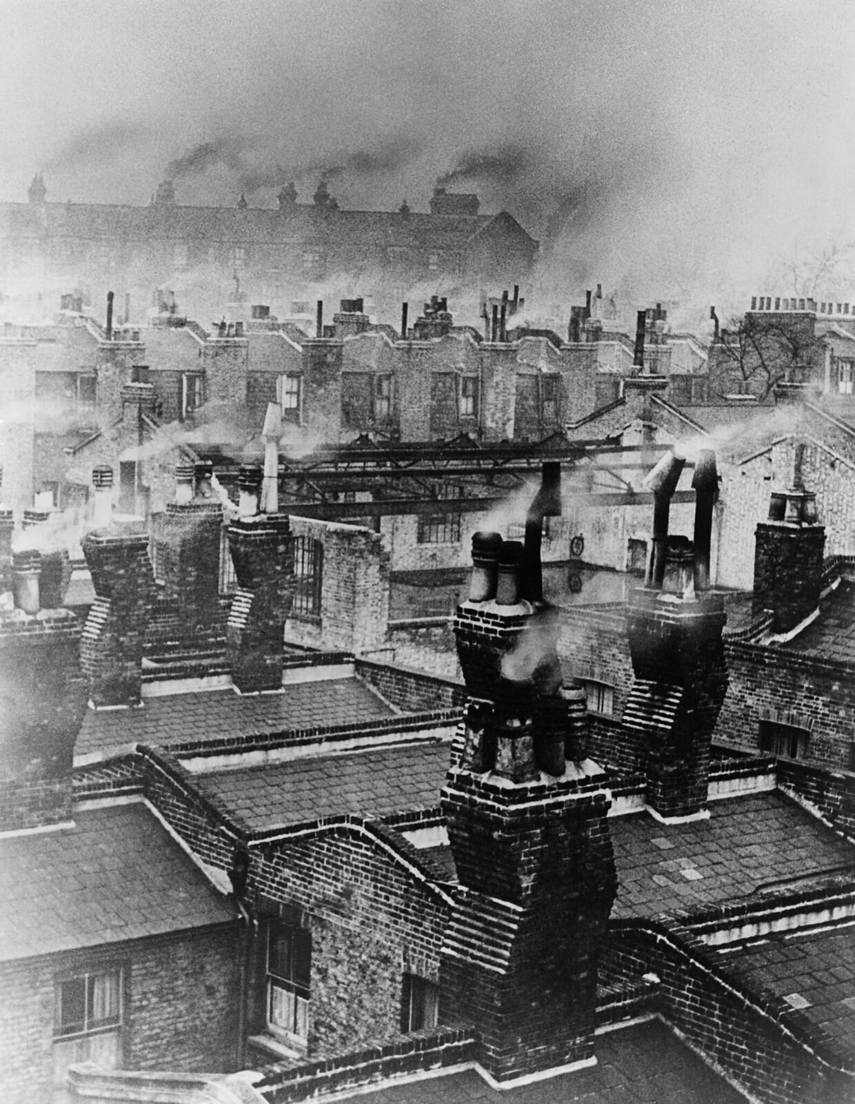 23. Дым от лондонских дымоходов