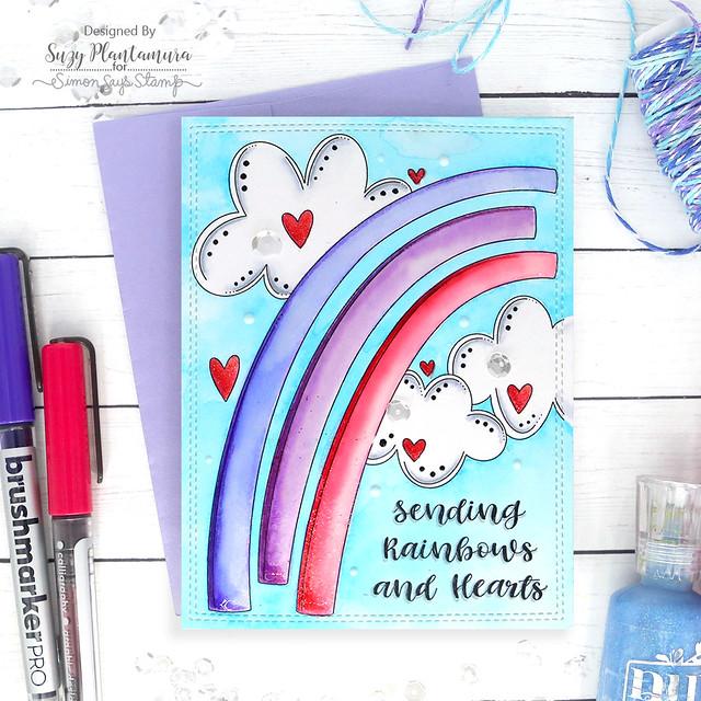 sending rainbows and hearts 2