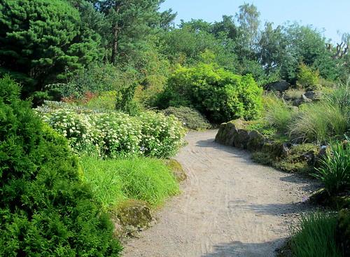 Path in Edinburgh Botanic Gardens