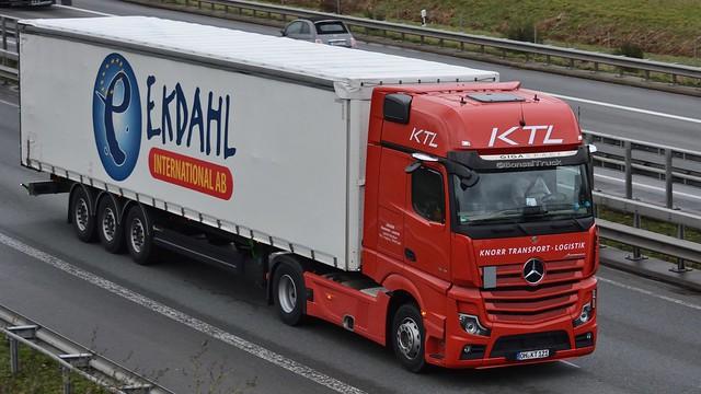 D - KTL Knorr Transport Logistik >Ekdahl< MB Actros New V 1845 Gigaspace