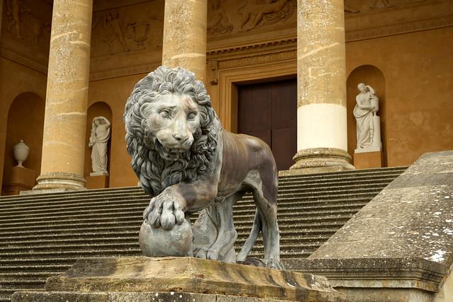 Stowe House Lion