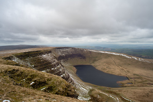 Waun Lefrith & Llyn y Fan Fach reservoir