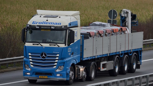 NL - Grolleman Transport MB New Actros Streamspace