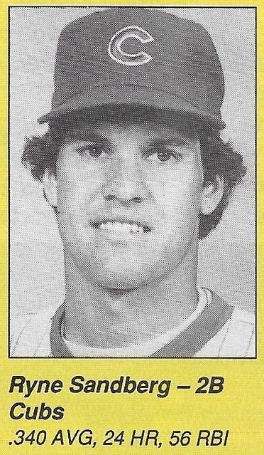 1990 All-Star Program Inserts - Sandberg, Ryne