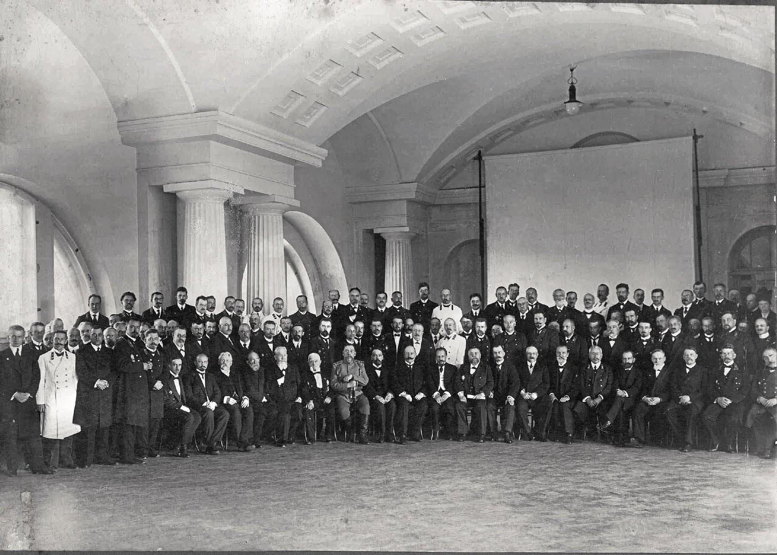 86. 1916. Участники совещания по профобразованию. 14 июля