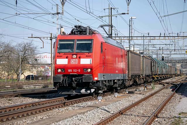 DB Cargo 185 112 Pratteln