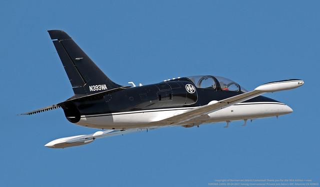 N393WA LMML 09-04-2021 Sonnig International Private Jets Aero L-39C Albatros CN 533623