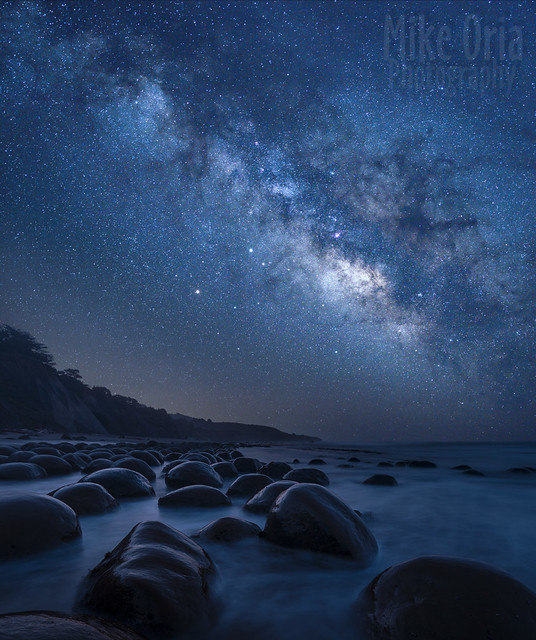 Milky Way from Bowling Ball Beach