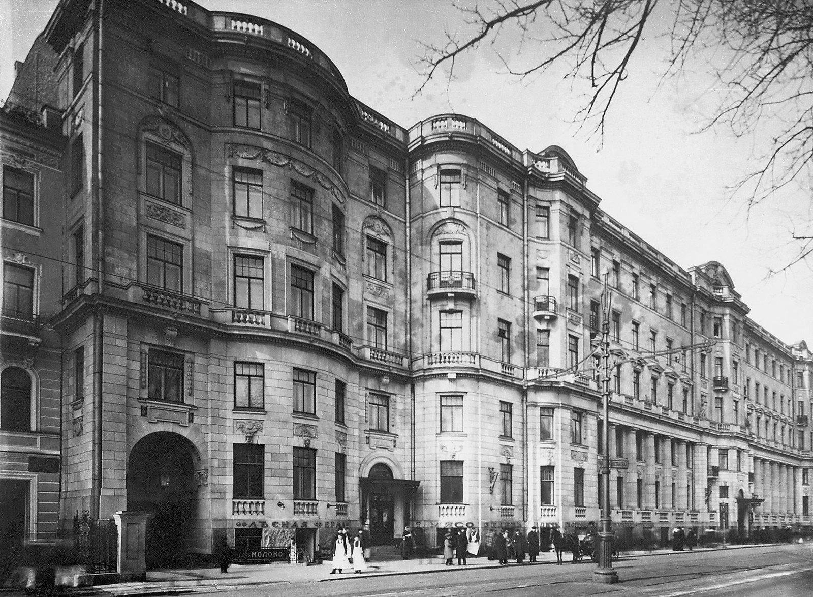 81. 1912. Дом №26-28 по Каменноостровскому проспекту