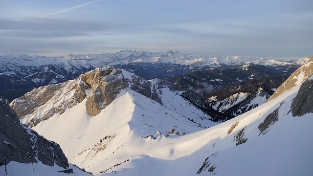early morning on Mt Pilatus Switzerland