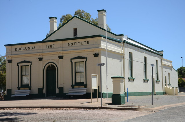 DSC_2402 Koolunga Institute, corner Second and Sixth Streets, Koolunga, South Australia