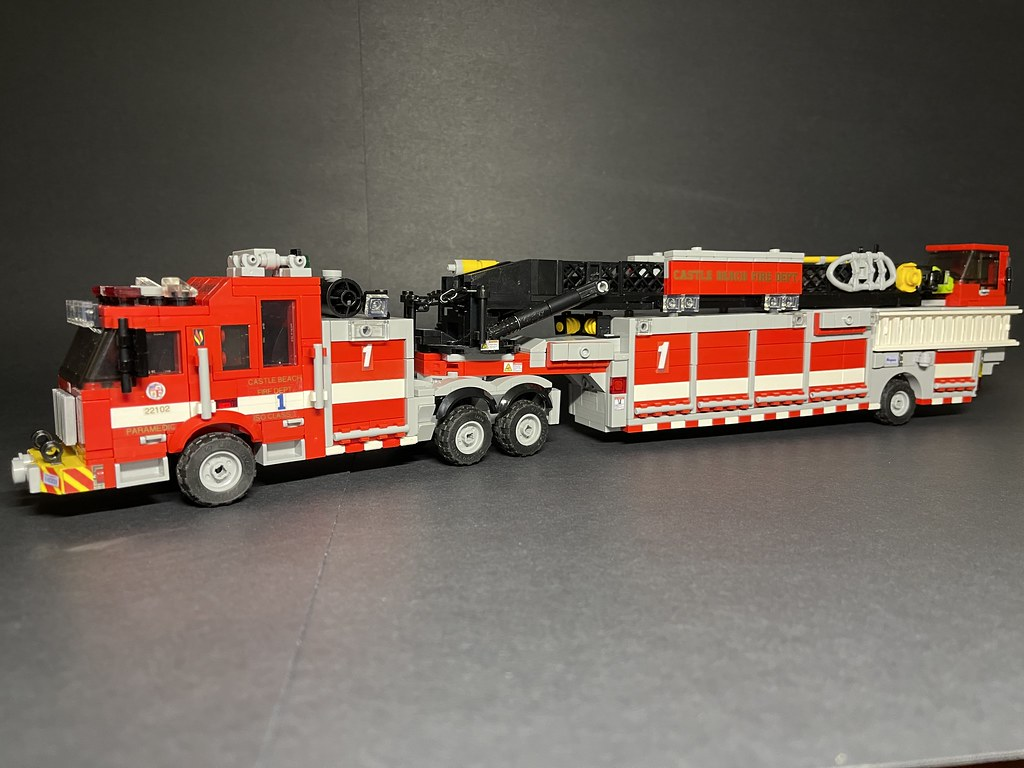 CBFD Truck 1 - SN: 22102