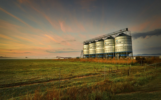 Tirrannaville Silo's - Southern Tablelands - NSW