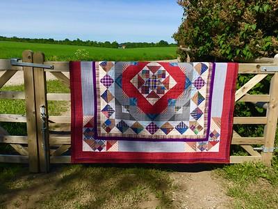 Hubby's quilt
