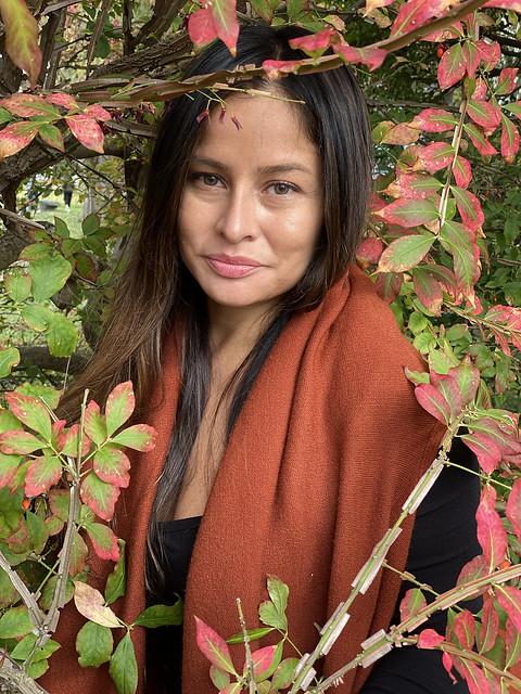 Picture Of Carolina Taken During A Fall Photoshoot In Garrison New York. Photo Taken Sunday October 18, 2020