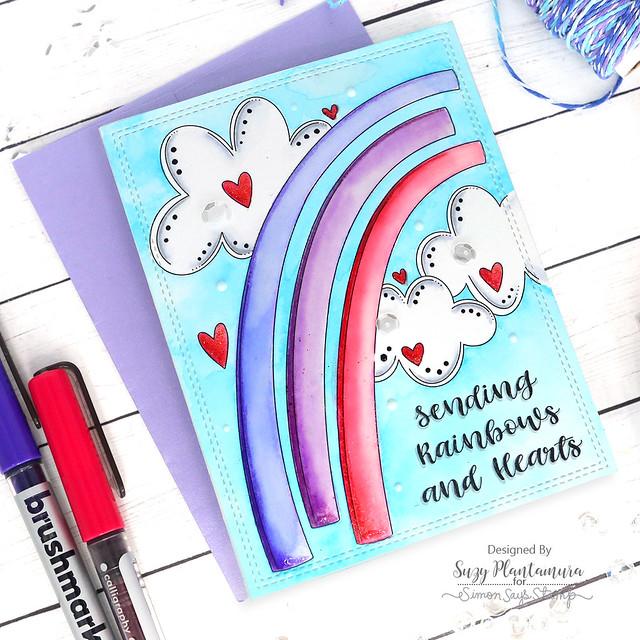 sending rainbows and hearts
