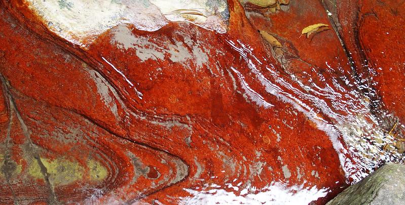 Rock colours, Ward's Canyon