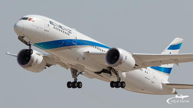 TLV - El Al Boeing 787-8 4X-ERA