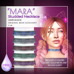 Mara Studded Necklace - Unrigged
