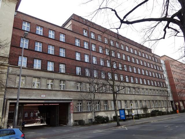 1929/30 Berlin Reichsversicherungsanstalt für Angestellte von Georg Reuter/Braun/Gunzenhauser Westfälische Straße 89a/Ruhrstraße 3 in 10709 Wilmersdorf