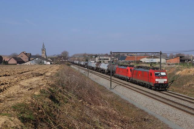 DB 186 339-8 + 186 333 Nerem 24/03/2021.