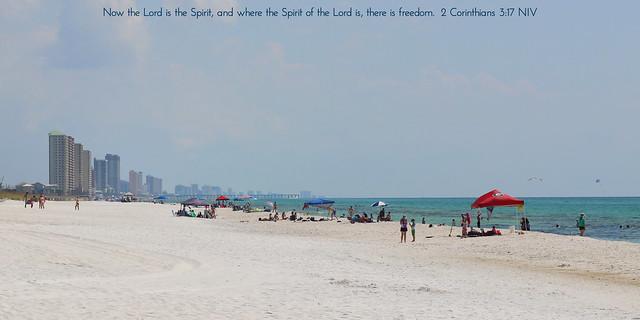 Panama City Beach skyline ☀️ Laguna Beach, FL
