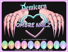 {Demicorn} Ombre NAILS AD