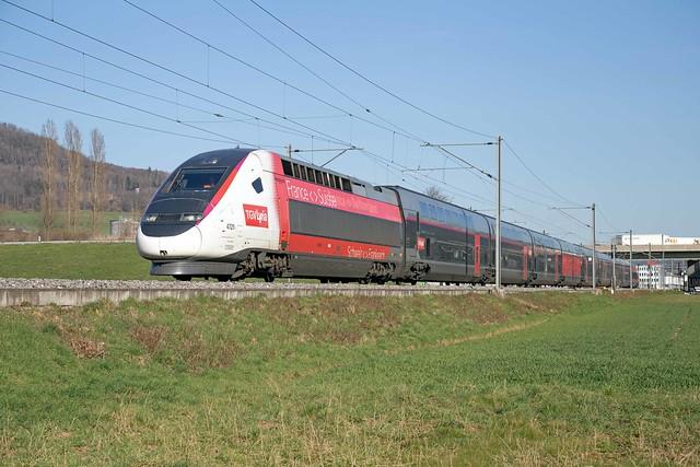 SNCF TGV 310 041 Itingen (CH)